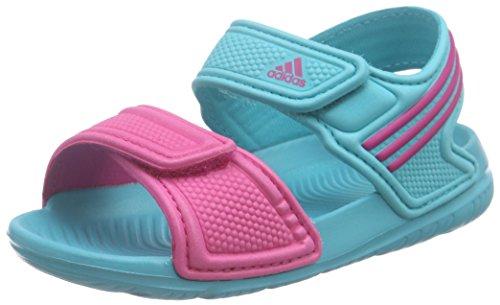 Adidas Akwah 9 i, Scarpe Walking Baby Bambino, Multicolore (Shogrn/Eqtpin/Shogrn), 22 EU