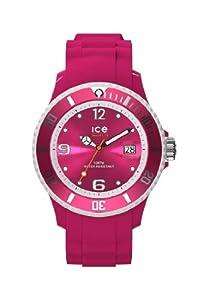 Ice-Watch Damen-Armbanduhr Limited DE - Raspberry - Small Analog Quarz Silikon SI.RAS.S.S.13