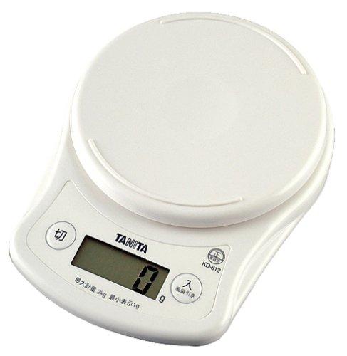 ?chelle de cuisson num?rique Tanita blanc KD-812-WH (japon importation)