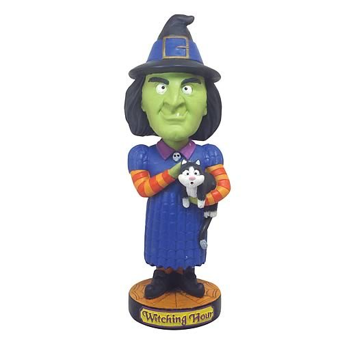 Witch Bobble Head