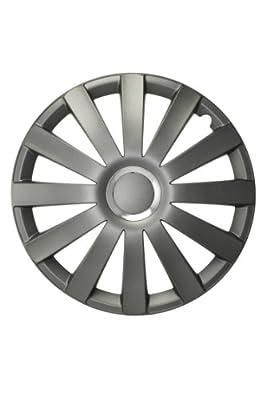 Radkappen/Radzierblenden 17 Zoll SPYDER PRO NYLON silver von octimex bei Reifen Onlineshop