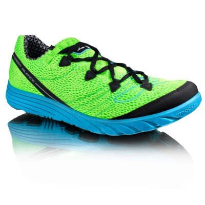 Brooks Green Silence Racing Running Shoes