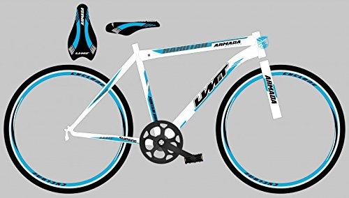 26 Zoll Mountainbike Fahrrad Umit Armada , Farben:weiß-blau