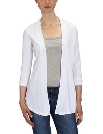 Bobi - Cardigan - Femme - Blanc (White) - FR : 36 (Taille fabricant : XS)