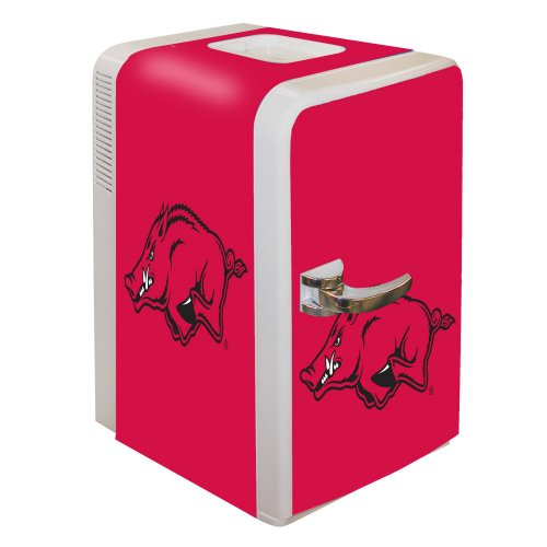 NCAA Arkansas Razorbacks Portable Party Fridge, 15-Quart at Amazon.com