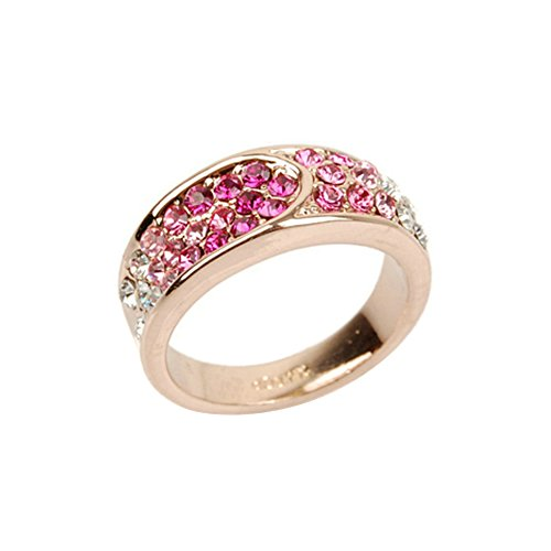 yoursfs-charming-pink-cluster-gemstone-wedding-rings-simulate-diamond-eternity-ring-s