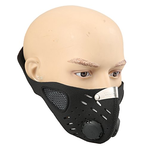 leeko anti dust anti pollution mask half face ski snowboard bike motorcycle cycling mask free. Black Bedroom Furniture Sets. Home Design Ideas