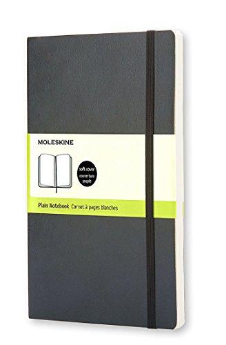Moleskine Classic Notebook, Pocket, Plain, Black, Soft Cover (3.5 x 5.5) (Classic Notebooks)