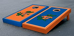 Florida UF Gators Cornhole Game Set Alt Border Albert Version Corn Hole by Gameday Cornhole