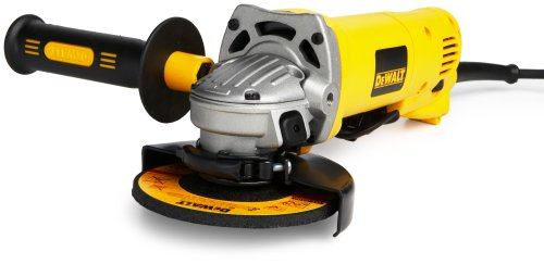DEWALT D28402K 4-1/2-Inch 115-MM Heavy-Duty Small Angle Grinder Kit