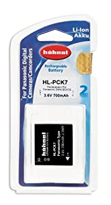 Hahnel HL-PCK7 Li-ion Replacement Camera Battery for Panasonic DMW-BCK7