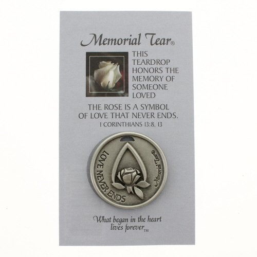 Memorial Tear Pocket Token * Inspirational Pocket Token Coin Remembrance MTPT