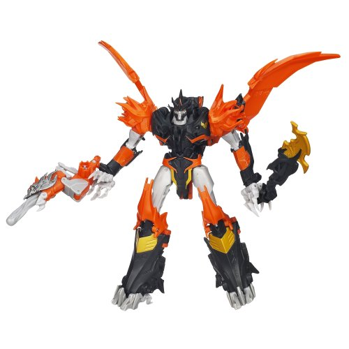 Transformers Prime Beast Hunters Voyager Class Predaking Figure 6.5 Inches by Transformers