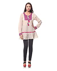 Lyla Embroidered Full Sleeves Top