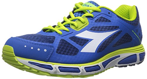 Diadora Men's N-4100-2 running Shoe, Classic Navy/Micro Blue, 8.5 M US