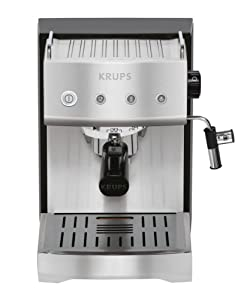 KRUPS XP5280 Pump Espresso Machine with KRUPS Precise Tamp Technology and Stainless Steel... by KRUPS