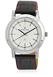 Maxima Attivo Analog White Dial Mens Watch - 20983LMGI