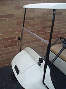 CLEAR Windshield for EZGO TXT Golf Cart 1995 & Up by Franklin