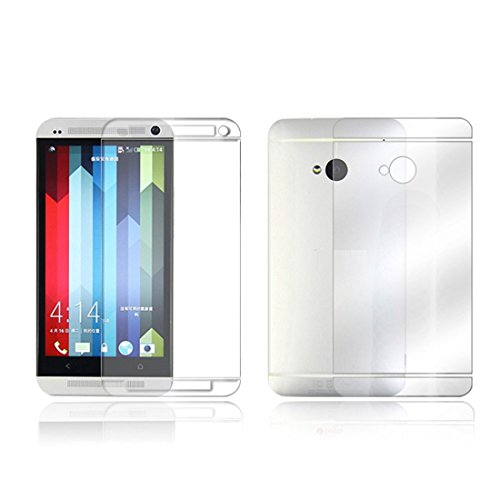 Bessky(Tm) Htc Screen Protection,Full Body Skin Front+Back Film Lcd Screen Protection For Htc One M7