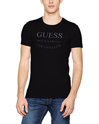 Guess T-Shirt Manica Corta Ss Round Neck [Bianco Ottico]