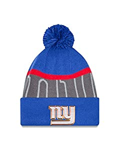 York Giants Era 2015 NFL Gold Collection Sideline Knit Hat Hut by New Era