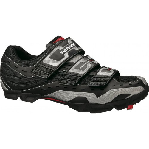 Shimano M123 SPD Shoe in Black 41, Black