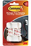 Command Large Cord Clips, 2-Clip
