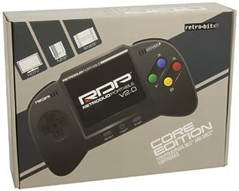 NES & SNES RetroDuo Portable Handheld Console V2.0 CORE Edition Black from Retro-Bit