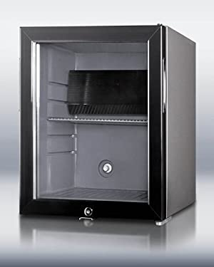 Summit MB25LGL 16 Black Built-In Beverage Center