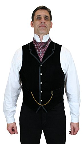 Historical-Emporium-Mens-Bonaventure-Velvet-Dress-Vest