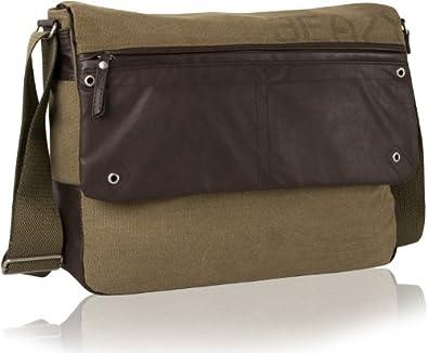 DANIEL RAY Umhängetasche NEVADA L Schultertasche Laptop Tasche Beige Desert