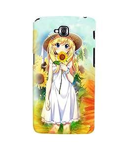 Fuson 3D Printed Girly Designer back case cover for LG G Pro Lite - D4623