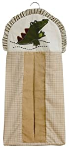 Kids Line Zanzibar - Bolsa para pañales, diseño de cocodrilo - BebeHogar.com