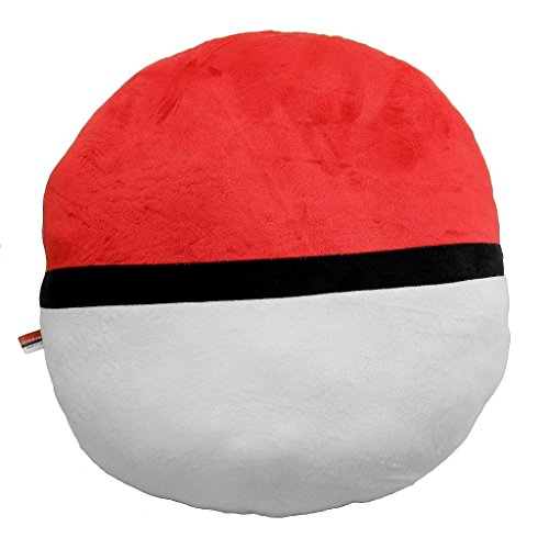 Pocket monster Pokemon Poke Ball Plush Stuffed Toy Soft Pillow 40CM mymei pokemon pokeball go ultra soft pillow decor pillow soft plush doll