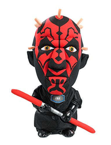 "Underground Toys Star Wars Darth Maul Talking 9"" Plush - 1"