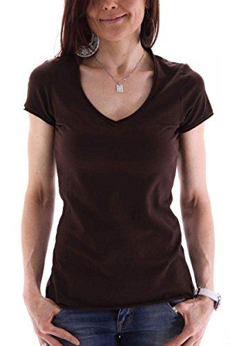 banana-republic-womens-t-shirt-brown-s