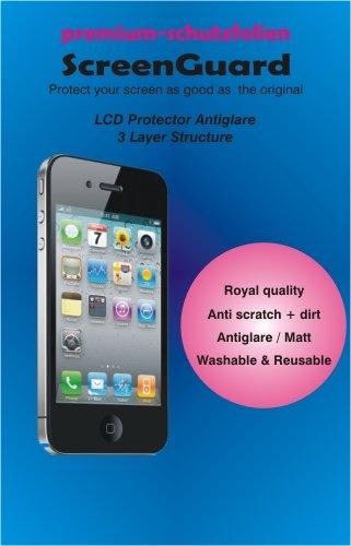 Displayschutzfolie Huawei Ascend G620 S G620S matt Antiglare Schutzfolie 3-lagig kratzfest Display Schutzfolien