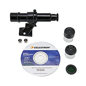 Celestron 21024-A FirstScope Telescope with Accessory Kit