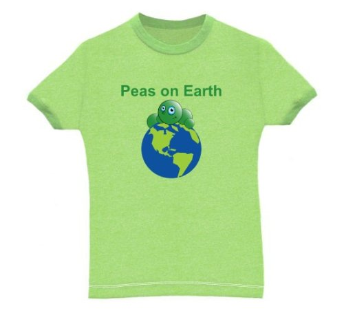 Peas on Earth - Buy Peas on Earth - Purchase Peas on Earth (Direct Source, Direct Source Shirts, Direct Source Womens Shirts, Apparel, Departments, Women, Shirts, T-Shirts)