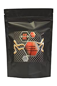 CD Sport Supplements Creapure Creatine Monohydrate Powder - 250g - Enhance Muscle Growth and Strength