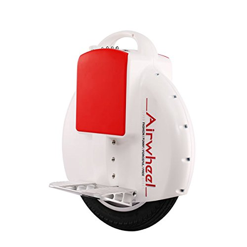 X5 Music Self Balancing One Wheel Electric Scooter White With U.S. Charger