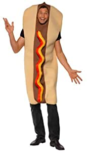 Smiffy's Hot Dog Giant Costume - Adult, One Size