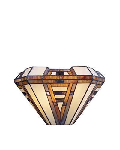 Artistic Lighting American Art 2-Light Pocket Sconce, Classic Bronze