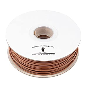 SainSmart 3D Printer Wood Filament 3mm 1kg dark brown
