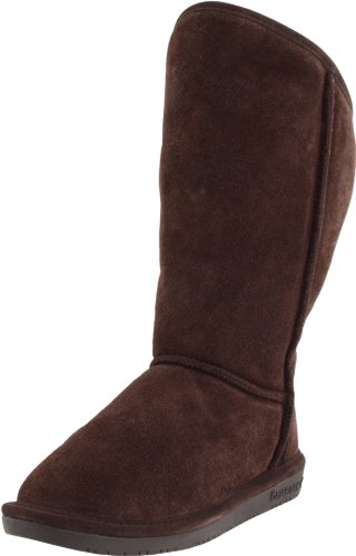 Bearpaw Women's Emily Chocolate Fur Trimmed Boot 724W 8 UK