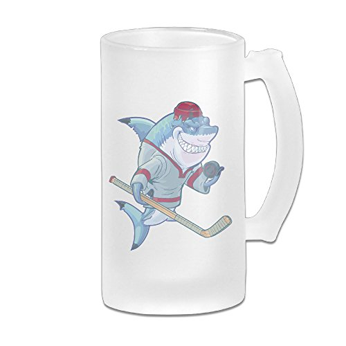 classic-shark-wearing-hockey-jersey-beer-glass-mug-frosted-beer-glasses-shatter-resistant-glass-beer