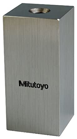Mitutoyo Steel Square Gage Block, ASME Grade AS-1, Inch