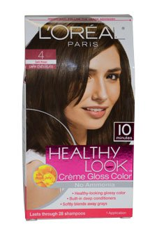 Rechercher sain Crème Gloss couleur, brun foncé