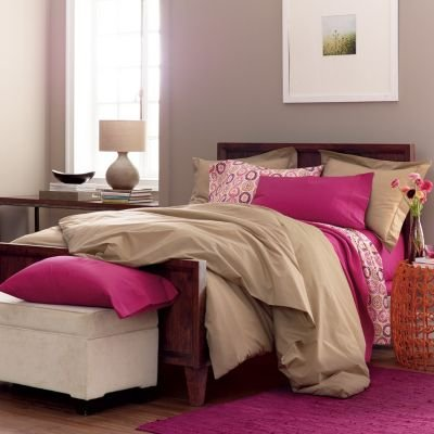 Classic Percale Solid Duvet Cover, Twin - The Company Store