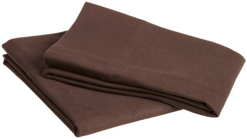 Pinzon Heavyweight Flannel Pillowcases - Standard, Italian Roast (Italian Bedspread compare prices)